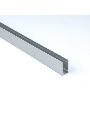 Aluminium Mounting Extrusion For Neon Flex - Side View